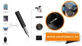 Receptor Bluetooth Adaptador 3.5 Para Autos Gruponatic La Molina