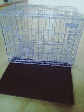 Vendo jaula nueva sin usar  amplia recien comprada