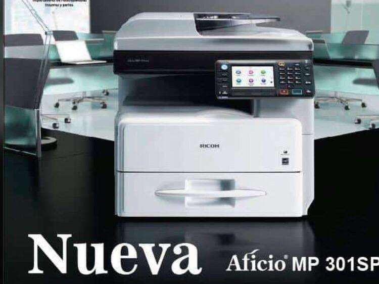 Multifuncional Nueva Mp301 0