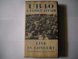 vhs ub 40 a family affair live in concert buen estado