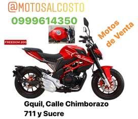 Moto Pegasso Freedom 200cc Panel Digital