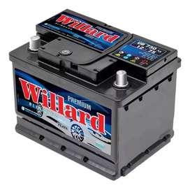 Baterías WILLARD 12X75