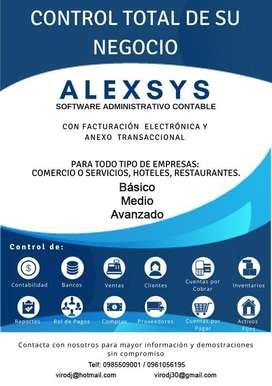 Sistema Contable con Facturación Electrónica y Anexo Transaccional