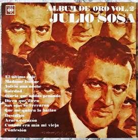 Vinilo Lp Julio Sosa Album De Oro Vol 2 1978 Excelente