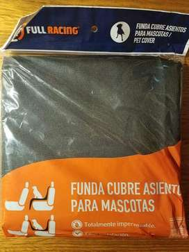 FUNDA PROTECTORA CUBRE ASIENTO PARA MASCOTAS