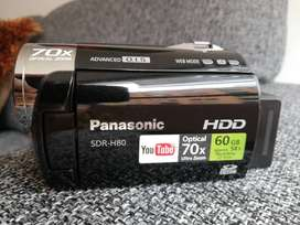 VENDO CAMARA DE VIDEO PANASONIC SDR-H80