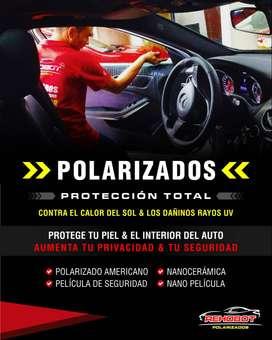 POLARIZADOS PARA TU AUTO EN TODAS LAS TECNOLOGIAS EXISTENTES