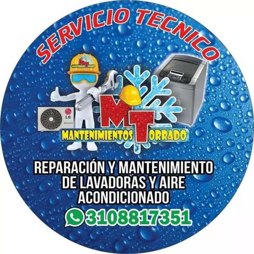 reparacion mantenimiento aires acondicionados lavadoras neveras cocinas 0