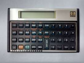 CALCULADORA FINANCIERA HEWLETT PACKARD HP 12C