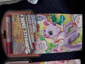 My Little Pony Libro de juegos Surprize Ink Con Marcador Especial