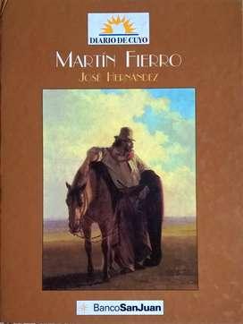 Libro Martín Fierro De Jose Hernandez