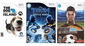 Lote Videojuego Nintendo Wii Usados Perfecto Estado Completos
