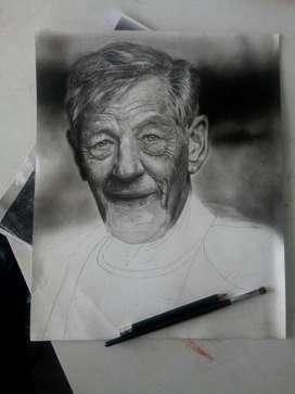Se Hacen Retratos a Lápiz Y Carboncillo por encargo