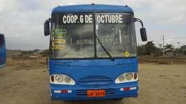 Vendo Bus urbano con Línea