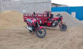Vendo mi moto honda cb125