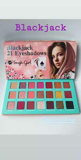 Paleta de Sombras  Blackjack 21 Eyeshadows