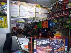 Taller de motos serviteca  ,lavado ,lujos ,calcas y accesorios