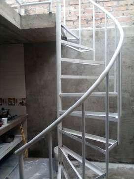 Escalera en hierro