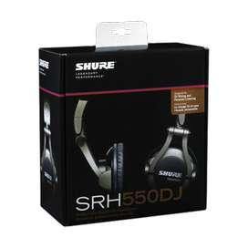 Audífonos Shure SRH750DJ Dj     Music Box