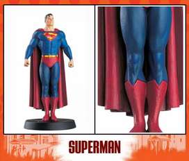 Vendo figura coleccion dc Superman plomo