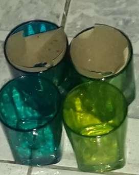 Juegos de Vasos de Vidrios Platos Etc
