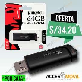 USB Kingston DT104 64GB Al por Mayor y menor