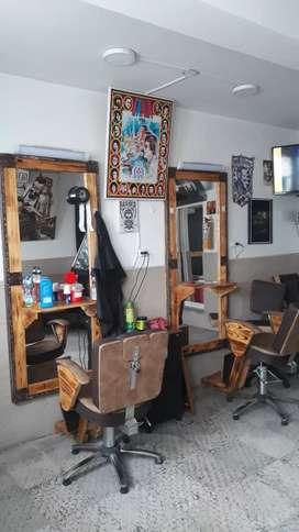 Remato montaje de Barbería