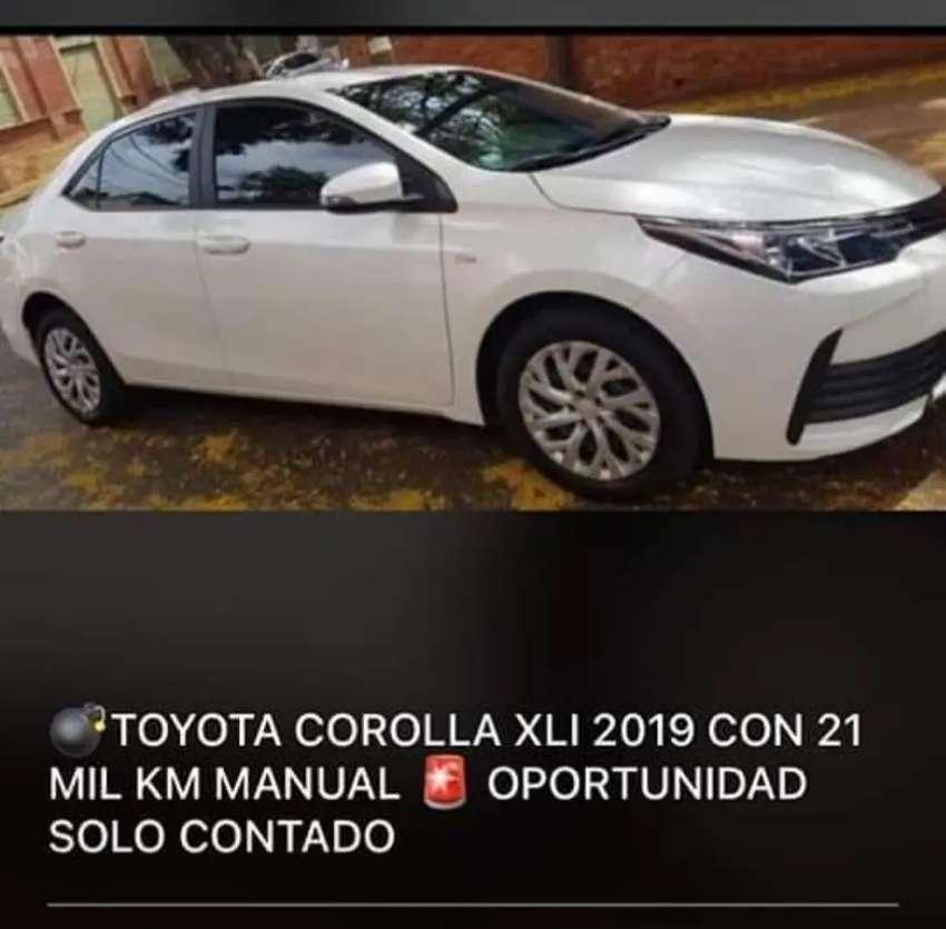 Vendo Toyota Corolla XLI 2019 21 mil km