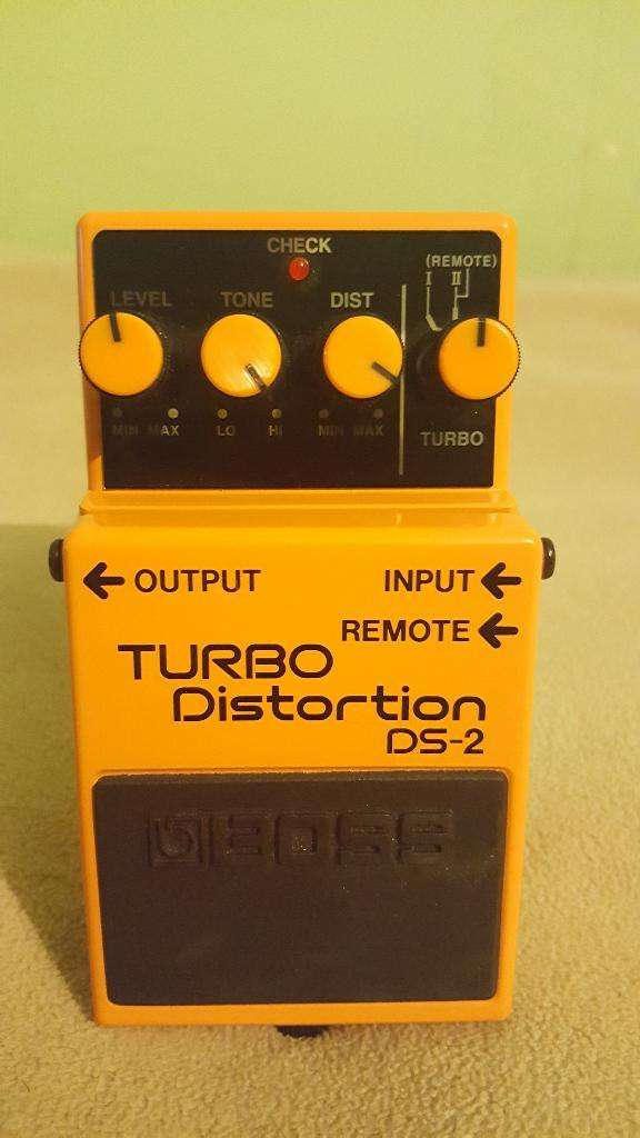 Pedal Boss Ds2 Turbo Distortion 0