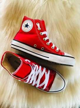 Zapatillas rojas unico par