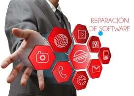 Reparación y optimización de software (Computadores - Teléfonos)