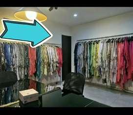 Rack Organizador de ropa - Exhibidor para colgar mercancía