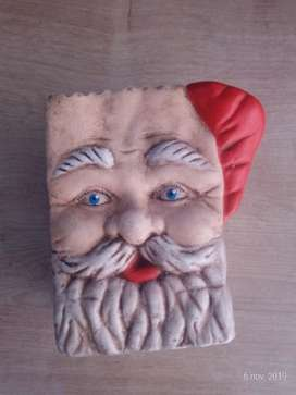 Papá Noel en Cerámica