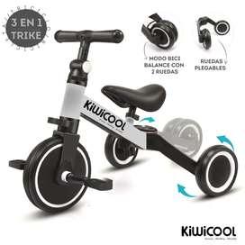 Bicicleta de Balance 3 en 1
