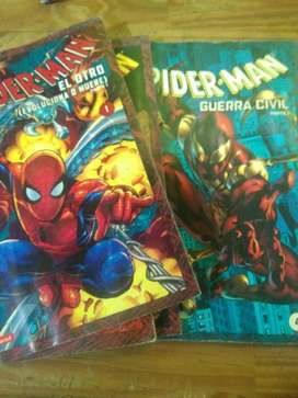 Spiderman Vol. 1,2,3,4