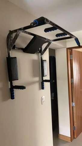 Barra 6 en 1 multifuncional ejercicios en casa