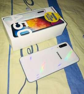 Galaxy Samsung A50 blanco