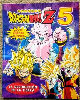 Dragon Ball Z 5- Album de figuritas