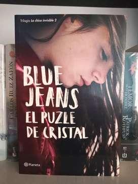 El Puzle de Cristal Blue Jeans La chica invisible 2 Libro