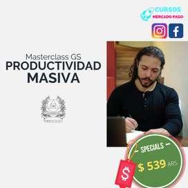 PRODUCTIVIDAD MASIVA GERRY SANCHEZ
