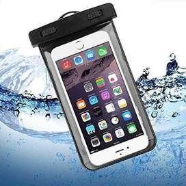 Funda totalmente impermeable para celulares