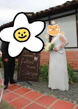 Vestido de novia plus size hermoso en Bogotá