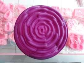 Molde en forma de Rosa