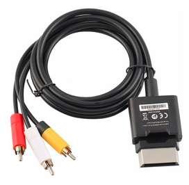 Cable Original Xbox 360 Audio Y Video Rca Xbox 360