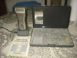 Afeitadora Panasonic Vintage En Estuche A Revisar No Envio
