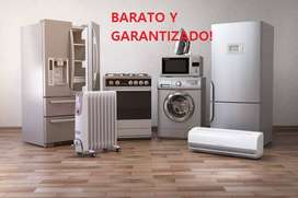 Técnico especializado en lavadoras, refrigeradoras, secadoras, neveras BARATO y garantizado