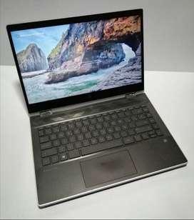 Portátil HP Pavilion X360, Core i3 8 Gen, 4 Ram, Disco Solido, Pantalla táctil-Usado