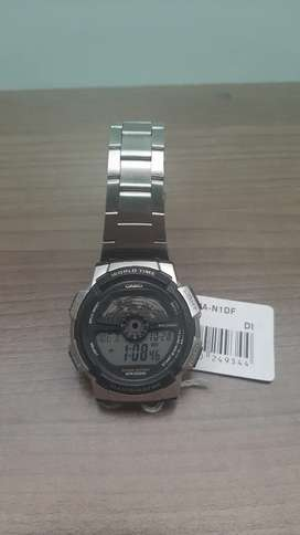 Vendo reloj casio, metálico acero original nuevo