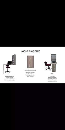 Mesa plegable - escritorio