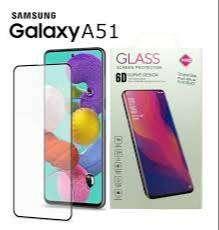 vIDRIO tEMPLADO Full Cover p/ Samsung A51